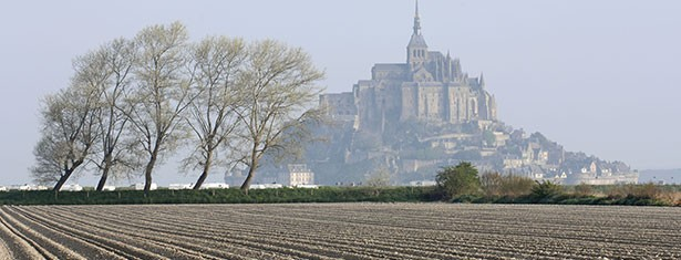 Mont Saint Michel and its bay
